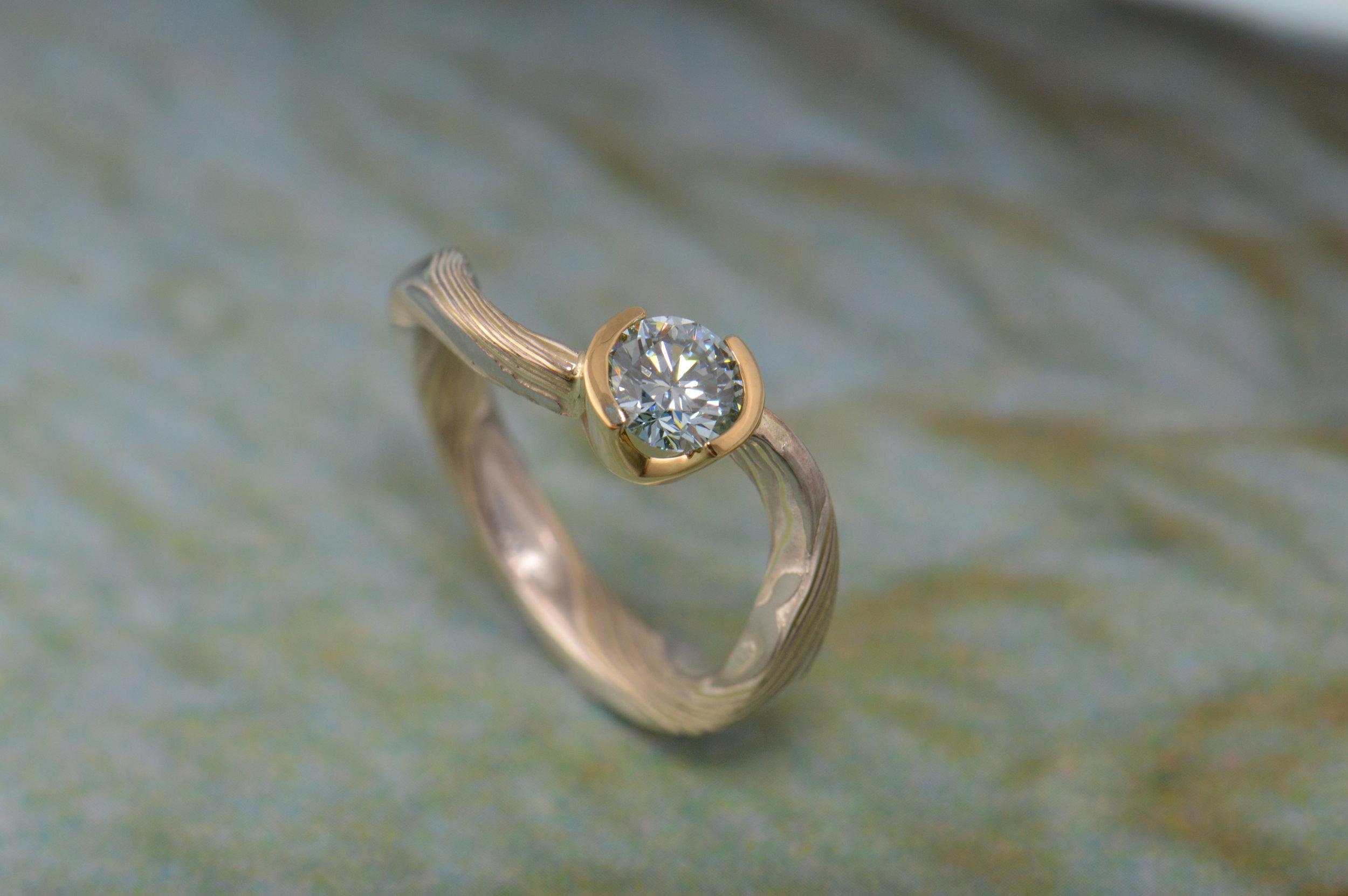 darvier-mokume-blue-diamond-18k-twist-forged-engagement.JPG