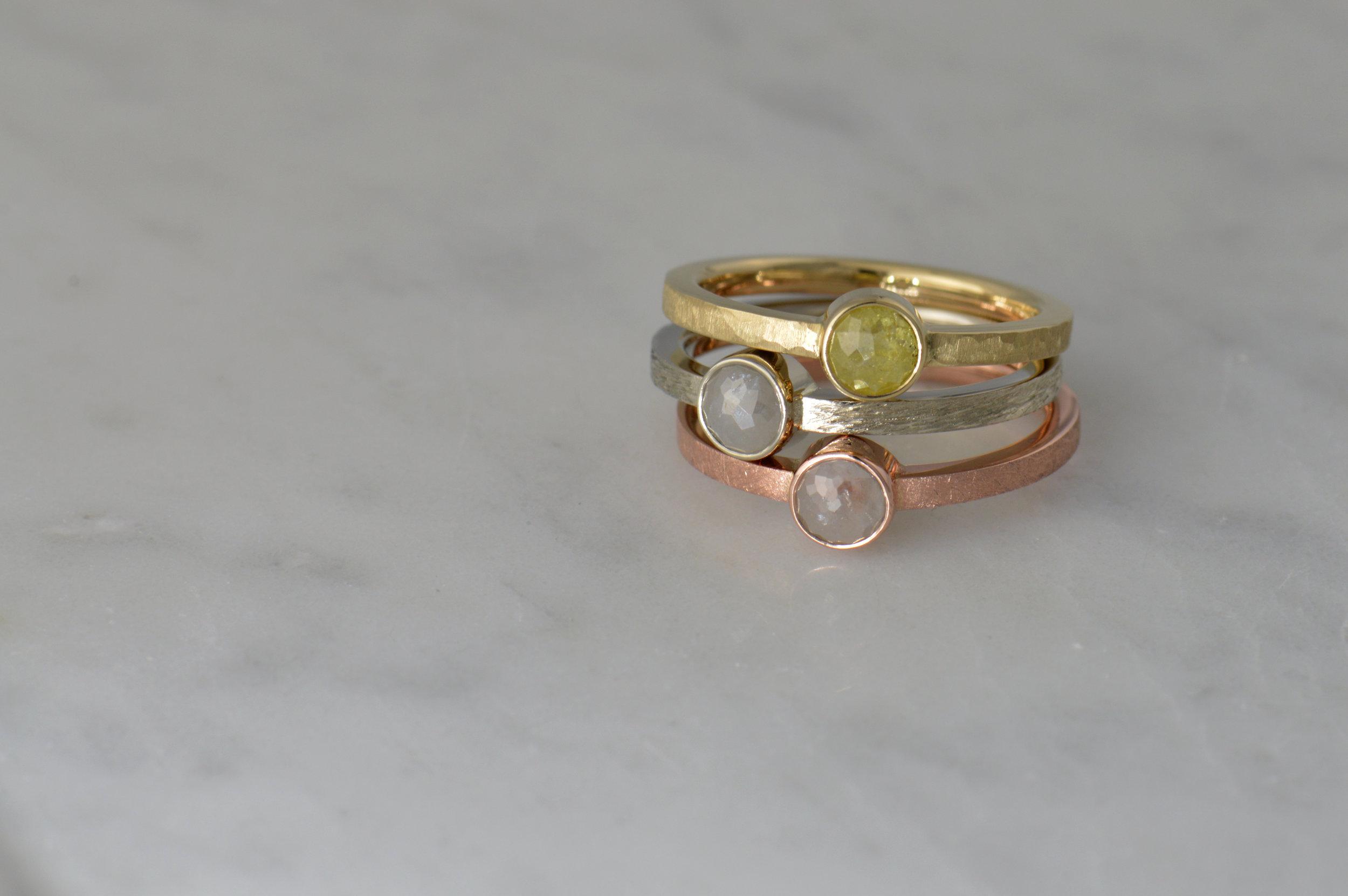 darvier-rose-cut-diamonds-stacking-rings-gold-rustic.jpg
