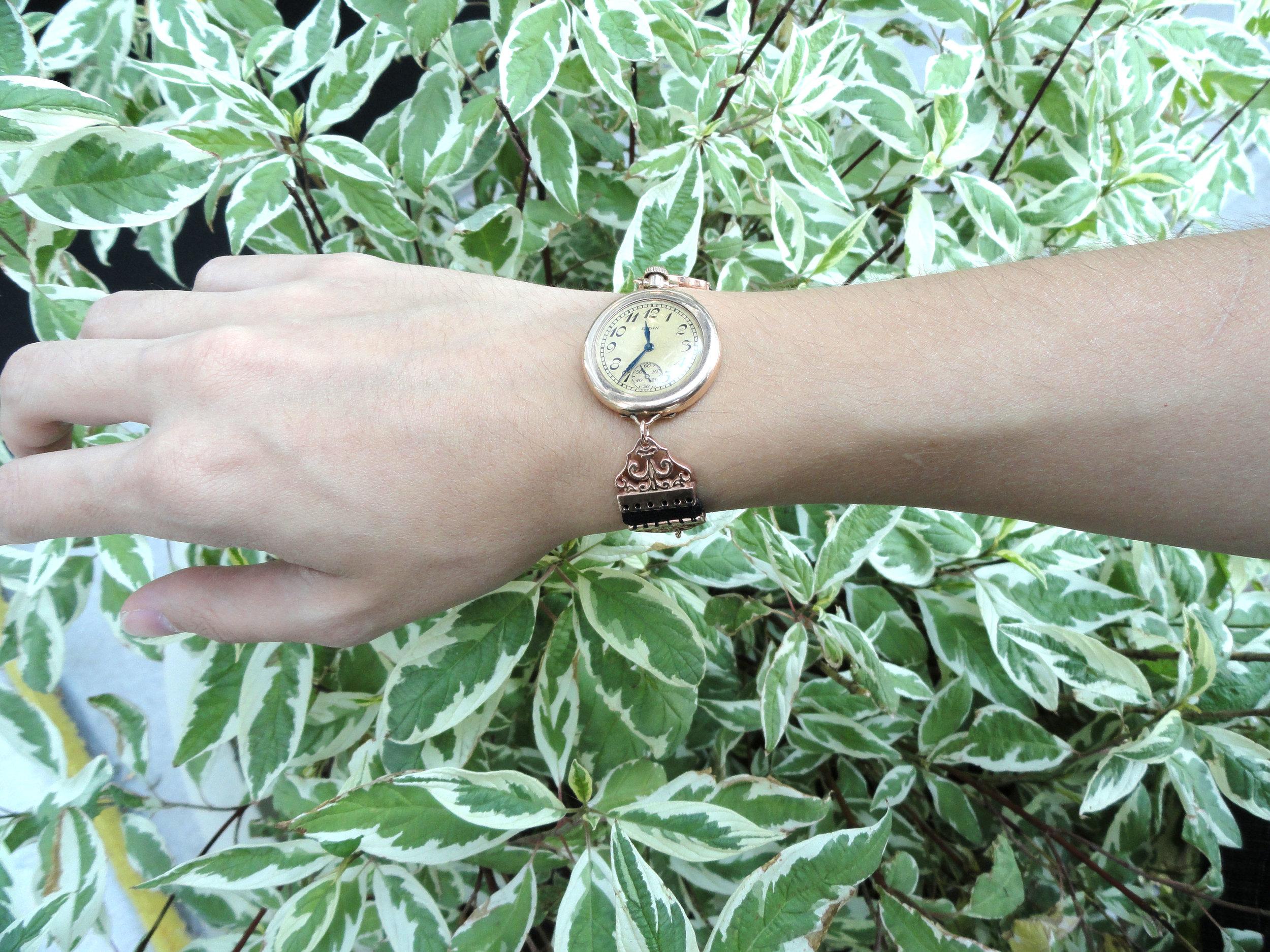 darvier-vintage-watch-link-bracelet-14k-pink-gold.JPG