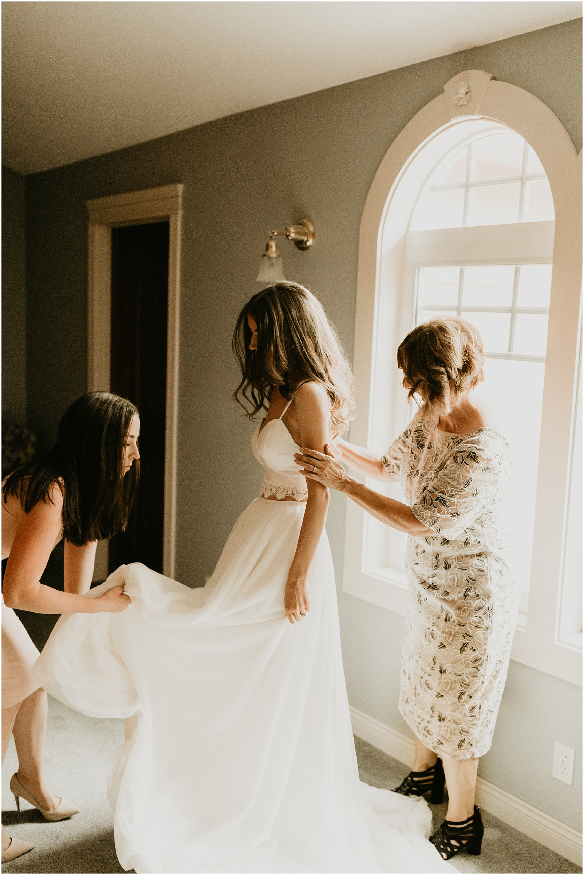 Foxwood House Wedding Cassie Trottier Photography