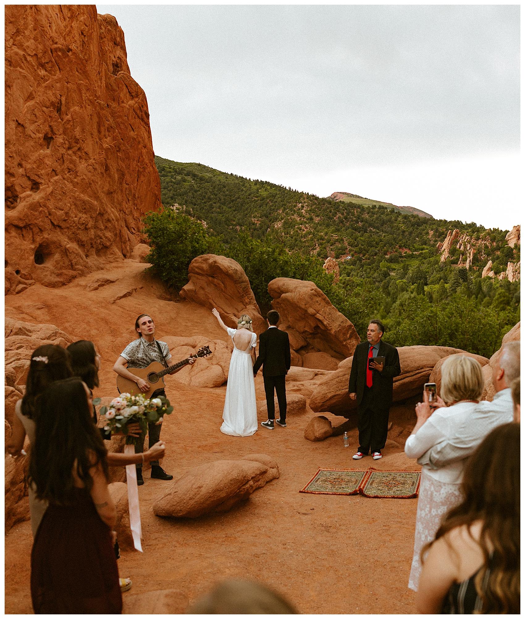 Garden of the Gods Elopement Cassie Trottier Photography
