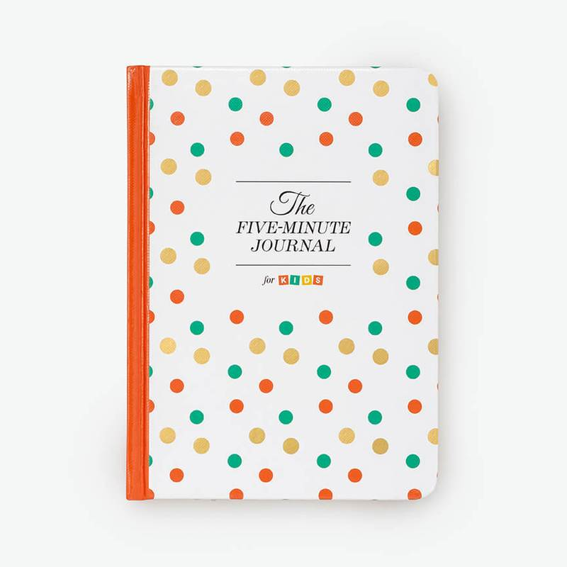 Five Minute Journal for Kids - Its never too early to get the kids involved! We recommend the kid's version to both parents and teachers for daily development and reflection.Find your copy HERE.