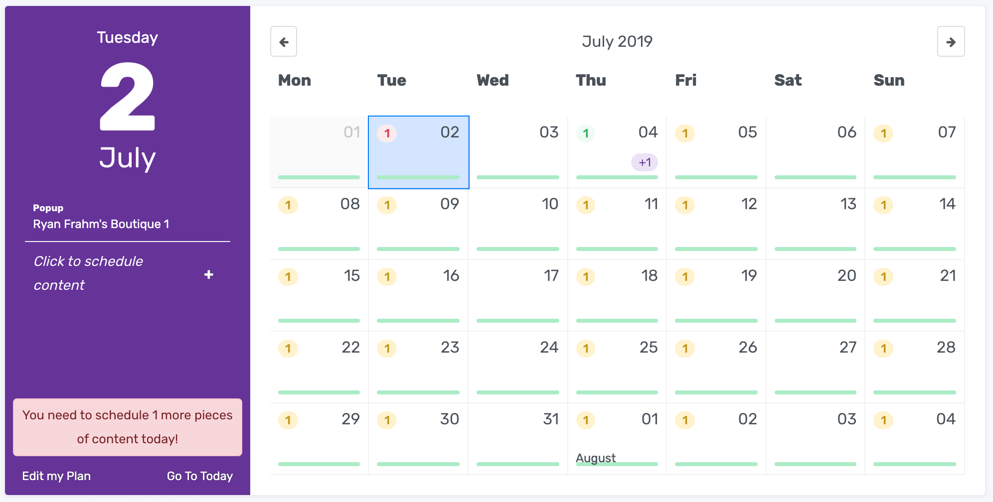 The all new content calendar that connects to your social accounts.