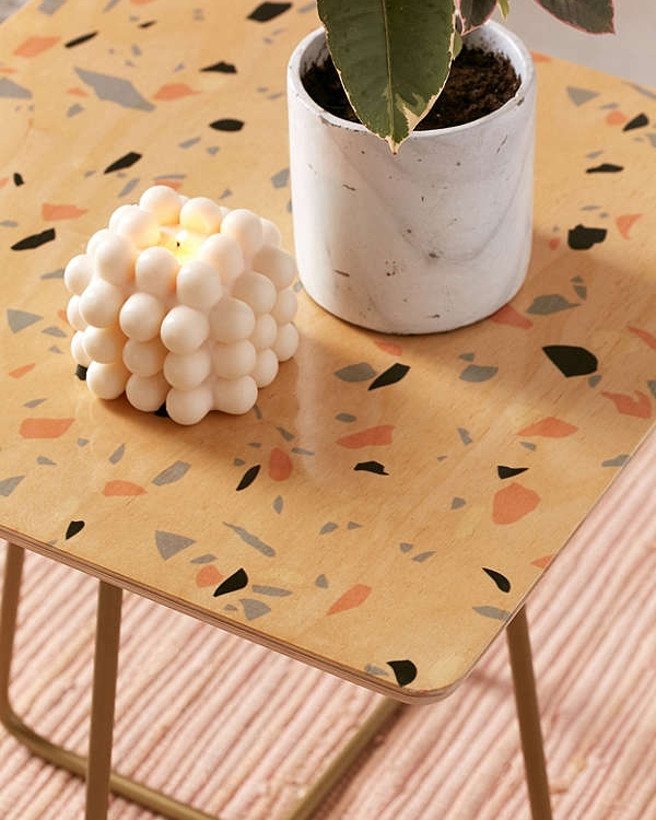Terrazzo Side Table URBAN OUTFITTERS