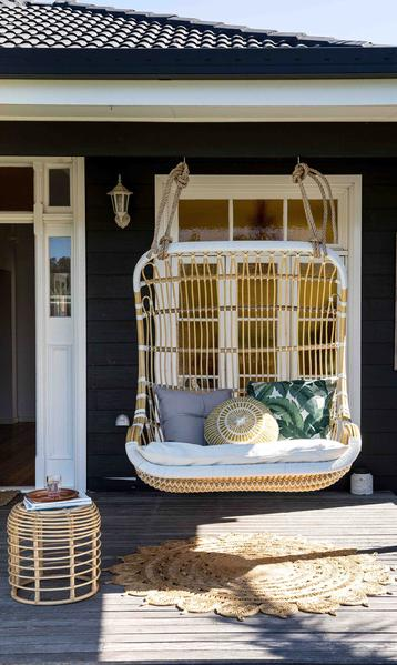 PORCH STYLE:    Source-      Byron Bay     Hanging Chairs
