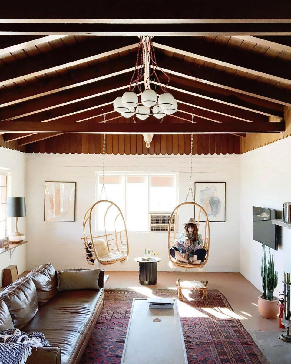 LIVING ROOM STYLE: The Joshua Tree House   - Source:   The Everygirl.com