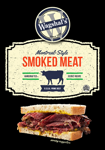 Wagshal's Montreal-Style Prime Smoked Beef Brisket -
