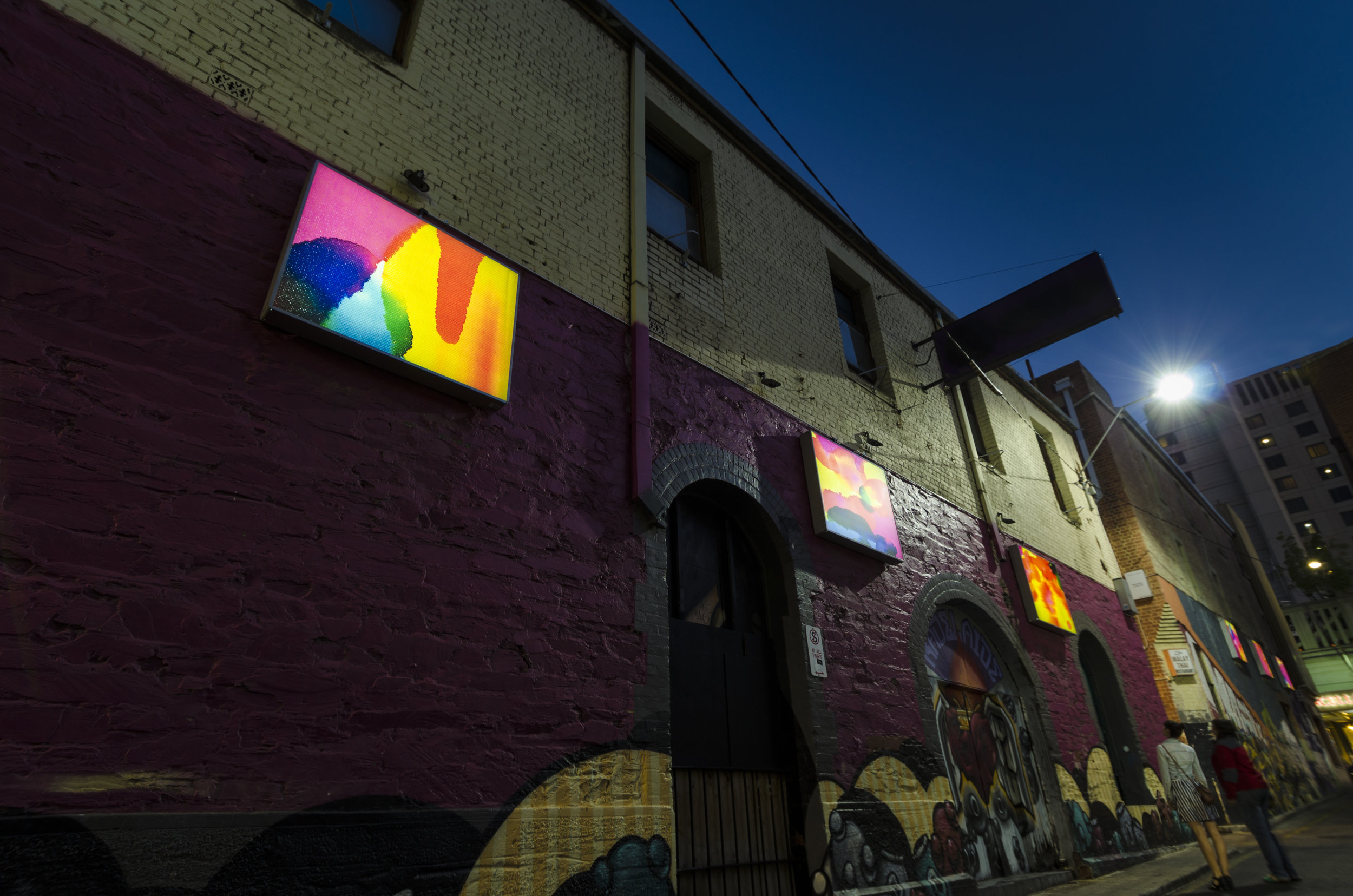 Blyth Street Light Box Gallery - Photo by Steve Rendoulis.