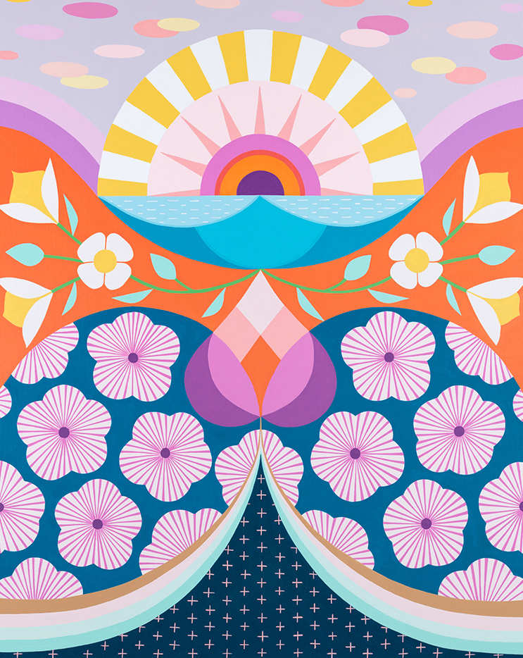 'Rise and Shine' by Claire Ishino.