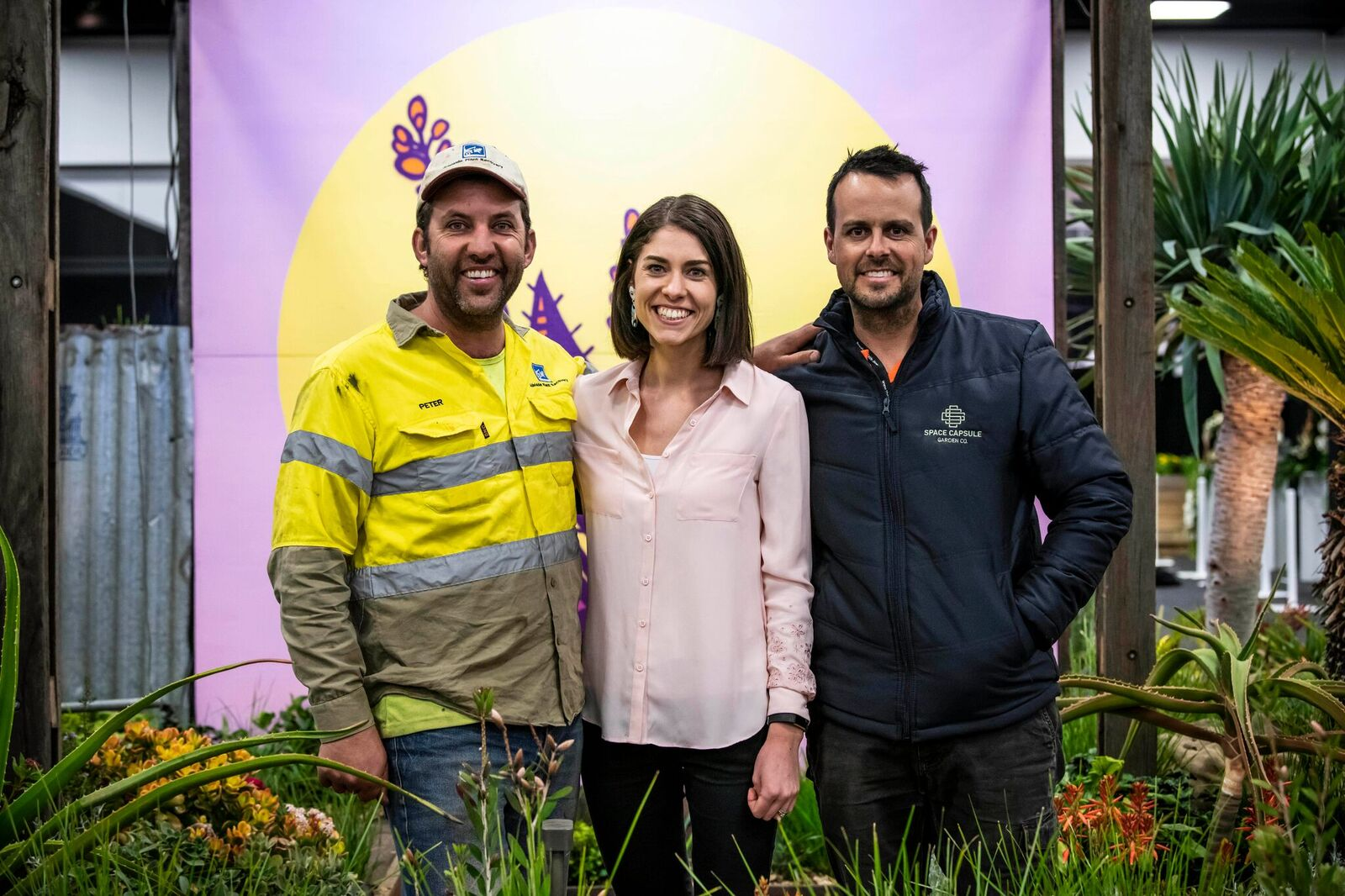 Pete, Leah and Tim at the Royal Adelaide Show. Photo by   bianca de marchi  photography   .