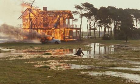 """- If you're looking for a movie that's capital-A Art and capital-S Serious, look no further than Andrei Tarkovsky's final film, The Sacrifice (1986). It is a dour, Bergmnanesque meditation on death and madness replete with stunning oners, extraordinary set pieces, and strong performances that Roger Ebert called, """"not easy to watch,"""" and """"long to sit through."""" Join us as we discuss wine spritzers, Calgon bath supplement, and our hardest art yet, this week on Ex Rated Movies!"""