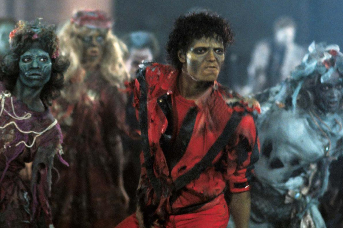 BoCo January continues with the first of a five-part series we're calling, Short & Sweet with the Dead Beats. We got together with our friends Emily and Kevin from the Dead Beat Film Society podcast to jabber on about some films that may be short in duration but are definitely rich in substance. First up: Michael Jackson's strange yet seminal music video,  Thriller  (1983).