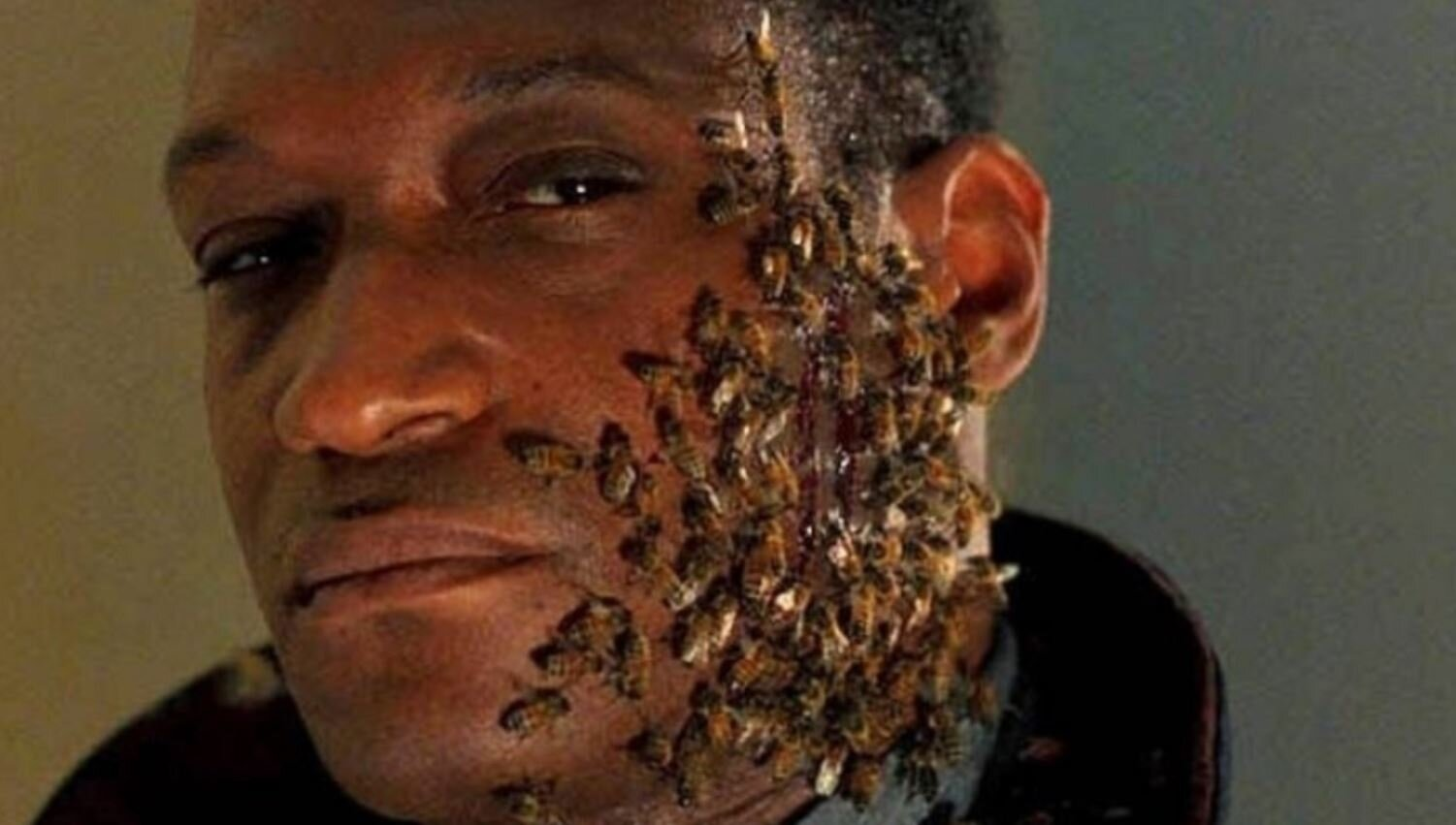 """- Twenty five years before Get Out was released, Candyman (1992) managed to highlight the horror that exists in America's racial and socio-economic disparities. While perhaps a bit unfocused and problematic by today's standards, this movie's excellent cast, sleek cinematography, and uncommon score conjure a mature and captivating spell that still manages to shock and disturb us today. Join us for an episode that includes Matt coming for Shonda Rhimes, Ryan doing some """"good"""" troll work, and a whole hive's worth of bee material, this week on Ex Rated Movies!"""