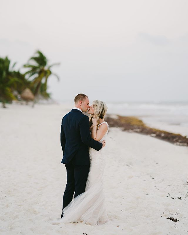 Ready to go back to #tulum I've been so lucky to shoot so many incredible weddings there!  @soupcowb and @paschasl welcomed me in and made me part of their entire wedding experience which lead to them getting so many extra pictures, sorry not sorry.