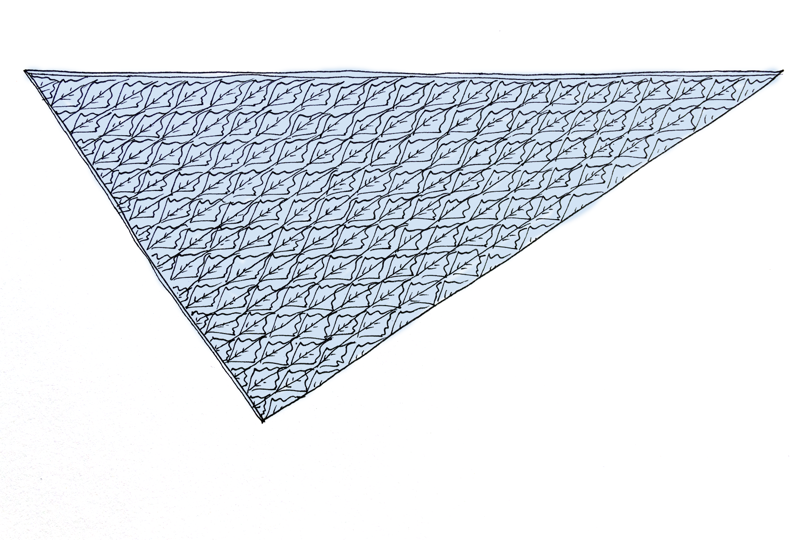 'Budburst' shawl sketch (colour).png