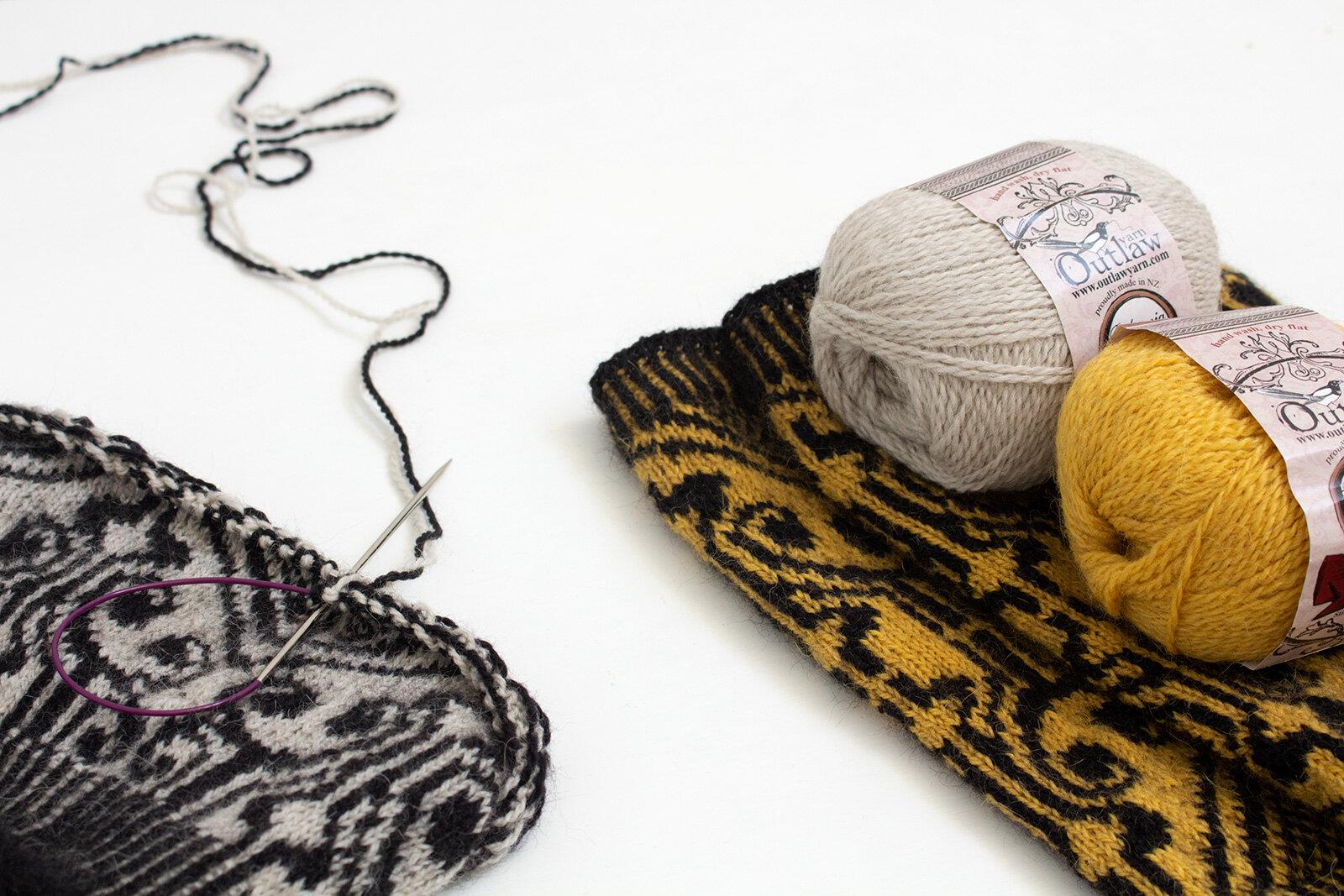 Orfeo Hat & Cowl 2