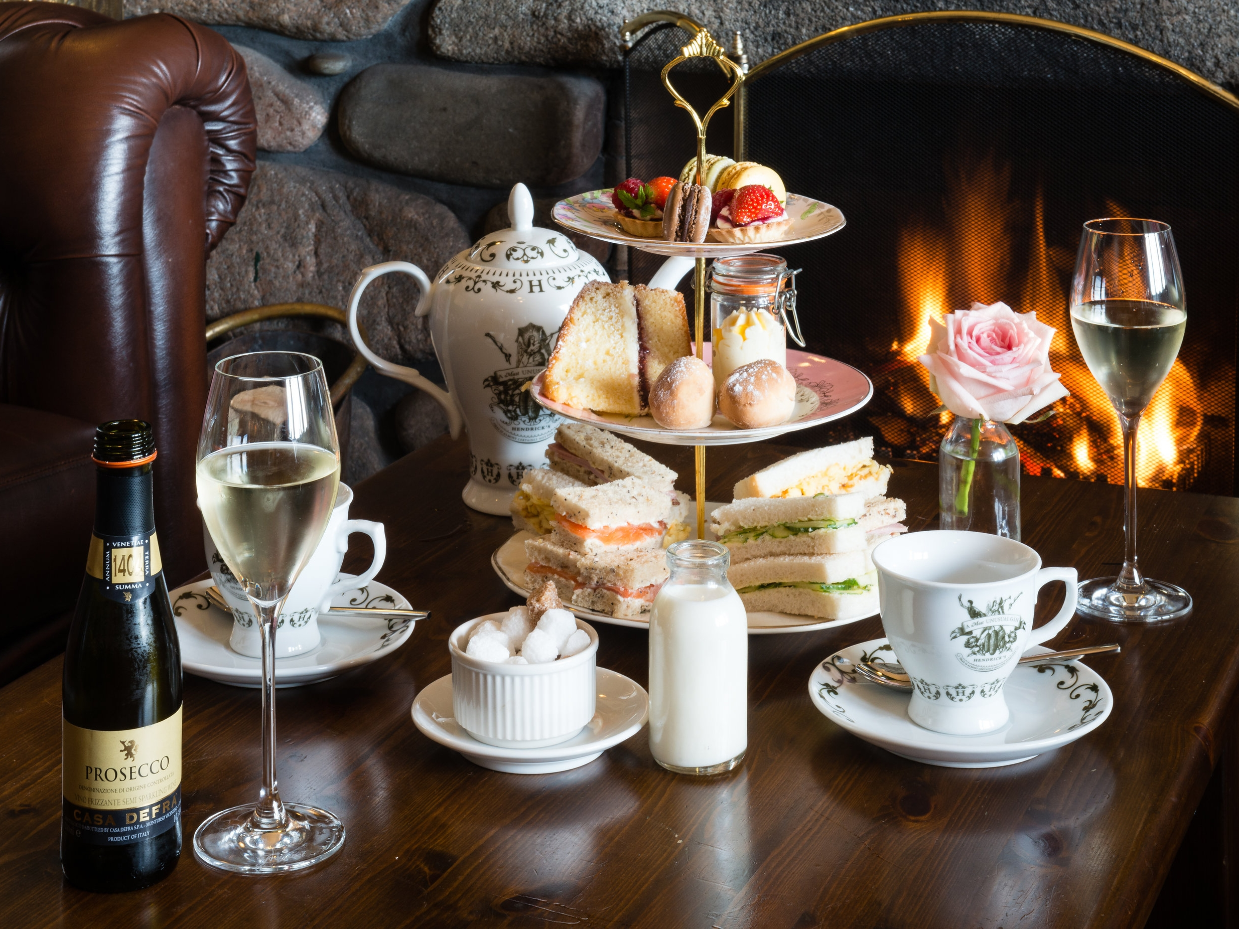 Afternoon Tea at Nicky Tam's -