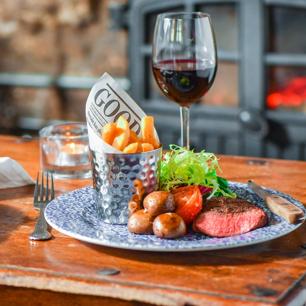 Steak Night Friday - Just £38 for two, with a bottle of house wine