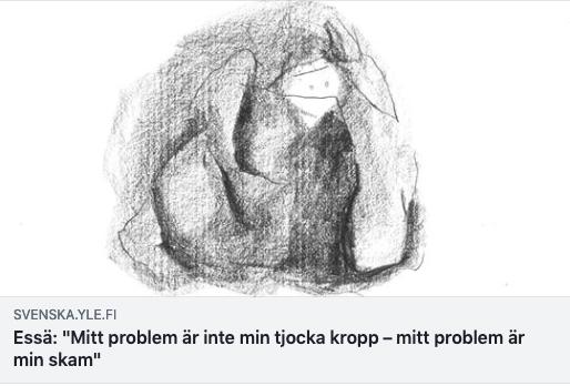 Essä kring kropp och skam , Svenska Yle december 2018