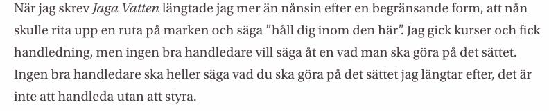 Texten  En näve döda myggor  i Studentbladet, april 2018.