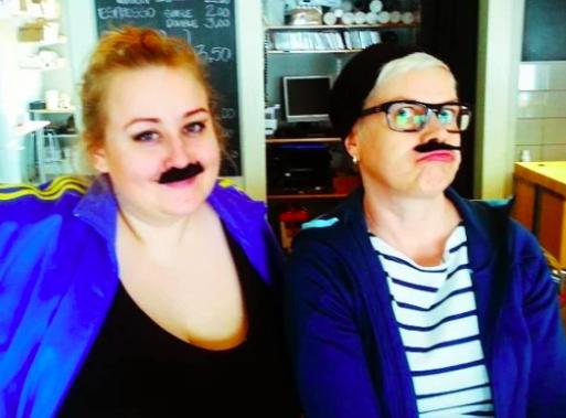 Medverkan i  podcasten Hallongrottan  om Jeppis Pride, sommaren 2014.