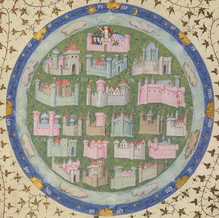 Thomas de Saluces, detalj ur  Le Chevalier errant