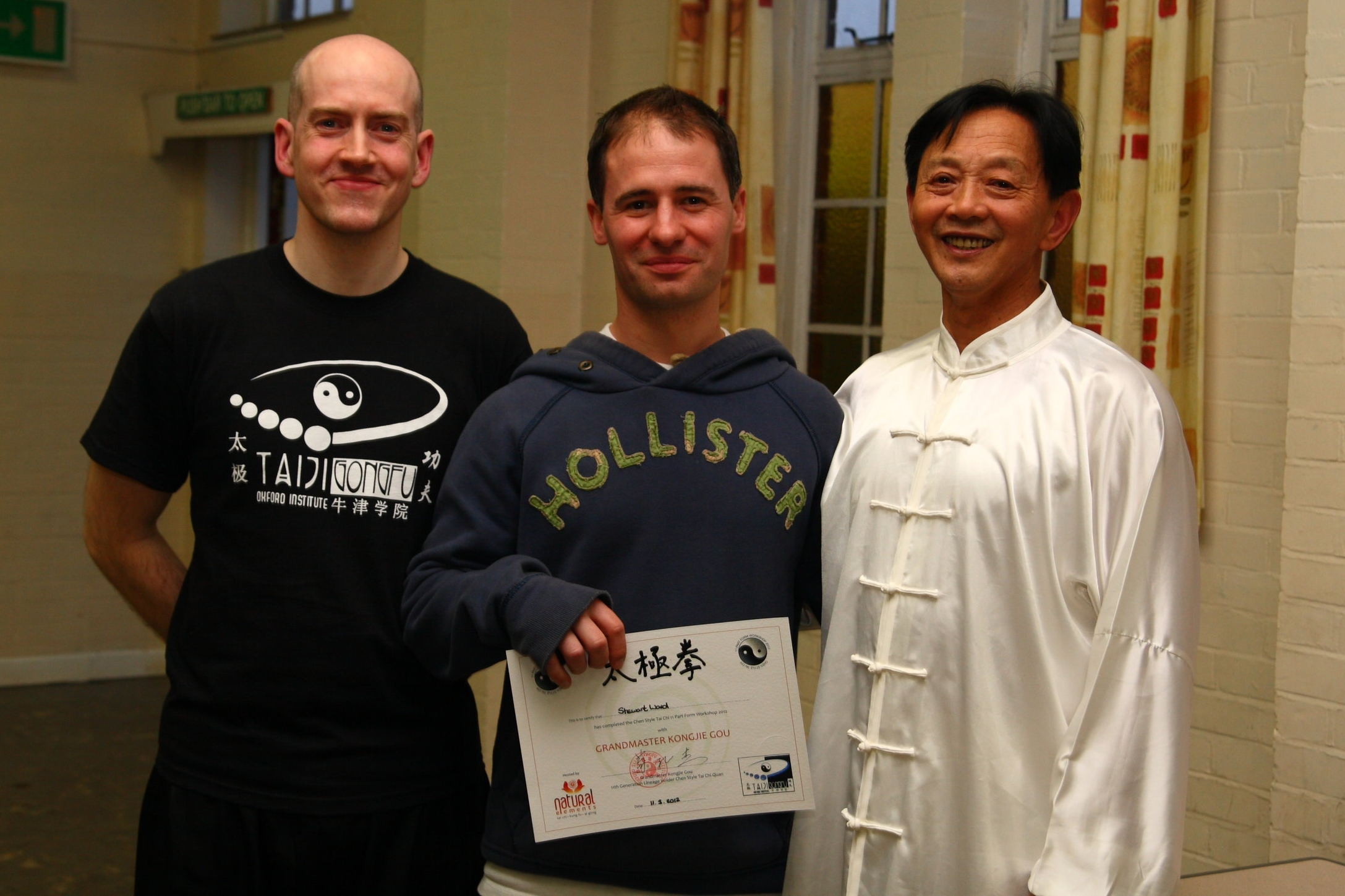 My first workshop with Grandmaster Gou in March 2012.