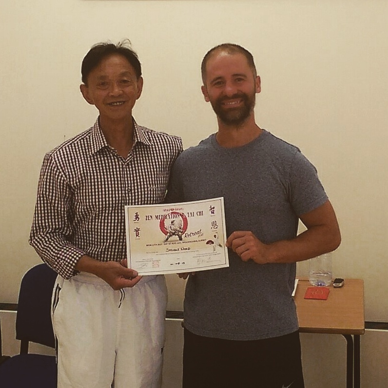 Chen Taijiquan summer camp with Grandmaster Gou in August 2015