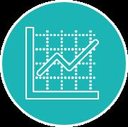 PROZESSOPTIMIERUNG DURCH DATENANALYSE - Nutzen Sie Ihre Kennzahlen (u.a. Umschlagshäufigkeit, Lagerdauer, Lagernutzungsgrad) und Analysen (z.B. ABC, XYZ) zur Optimierung Ihrer Prozesse, indem Sie Fehlerquellen oder Ineffizienzen identifizieren, die Lagerbestände verringern und Ihre Lagerfläche effizient nutzen.