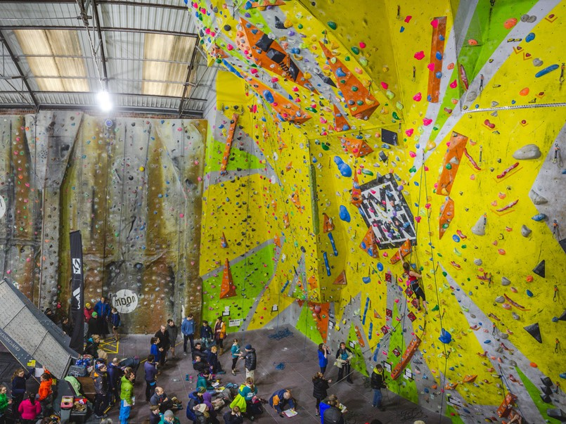 The Climbing - We offer lead climbing, toproping, bouldering and autobelays. We also have a moon board, lattice board and training area.
