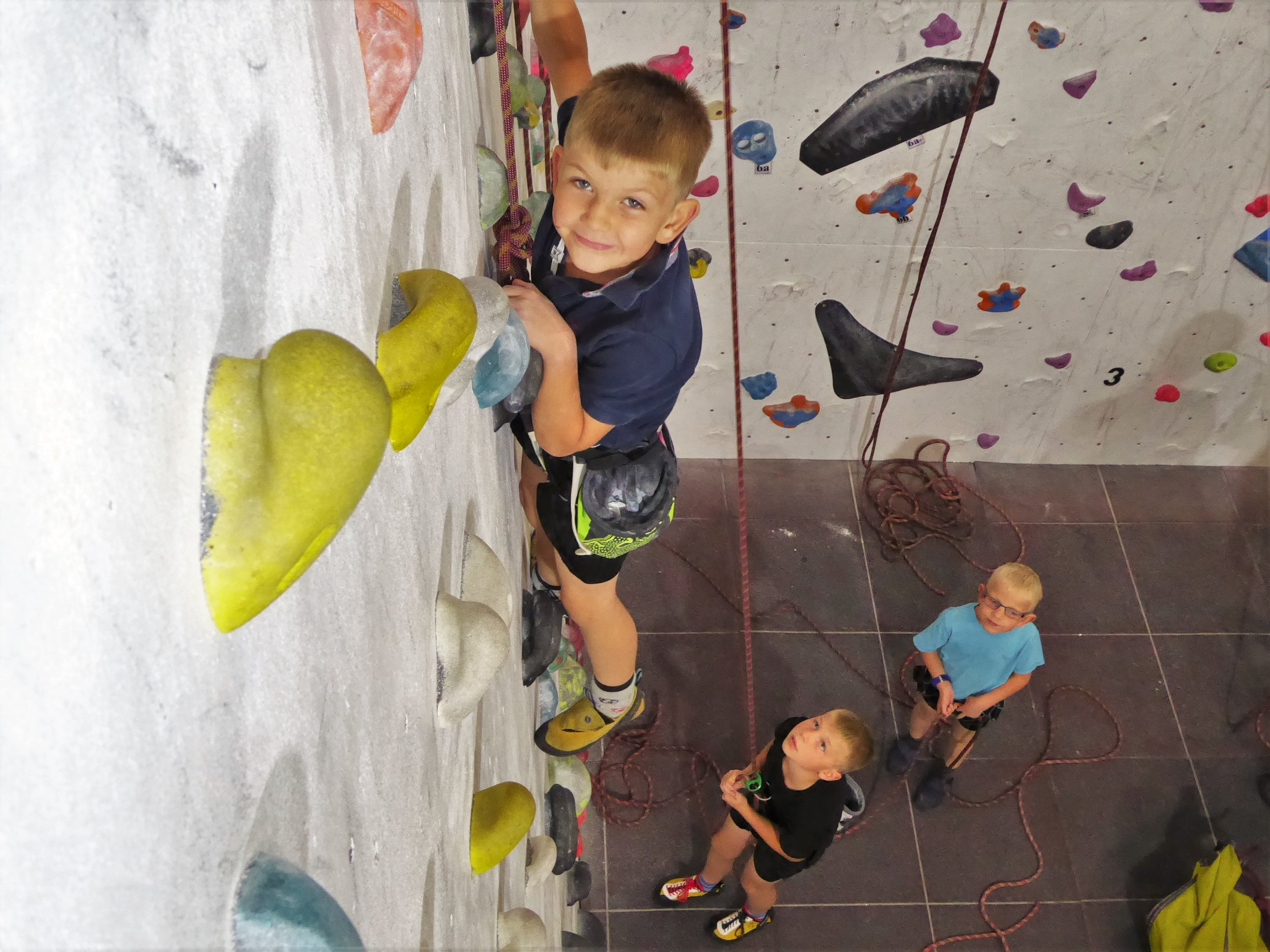 Kids Holiday Climbing - £12 per SessionWe emphasise fun rather than teaching in these sessions, however climbers will still have to work in teams and help each other progressEvery week day during school holidays:10:15-11:45, 12:15-13:45, 14:00-15:30