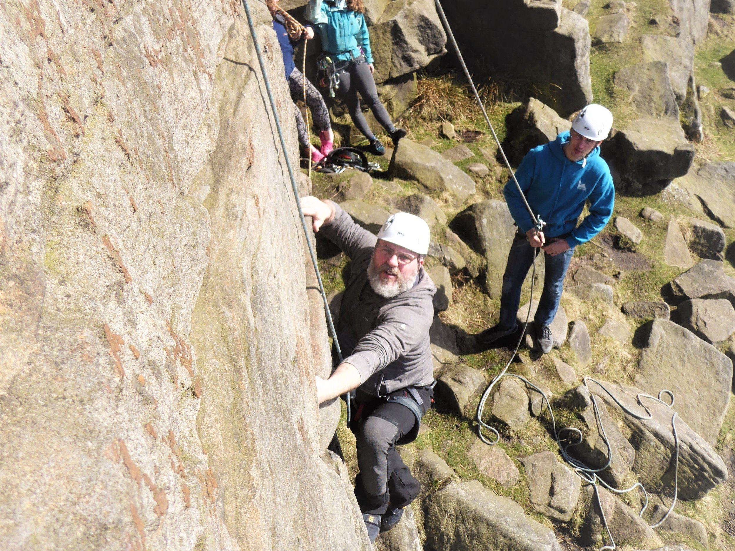 Hire an Instructor - Give your family and friends the experience of a lifetime with a day out in the Peak District with one of our instructors. We provide the equipment and expertise, you just need to coke and enjoy the day.