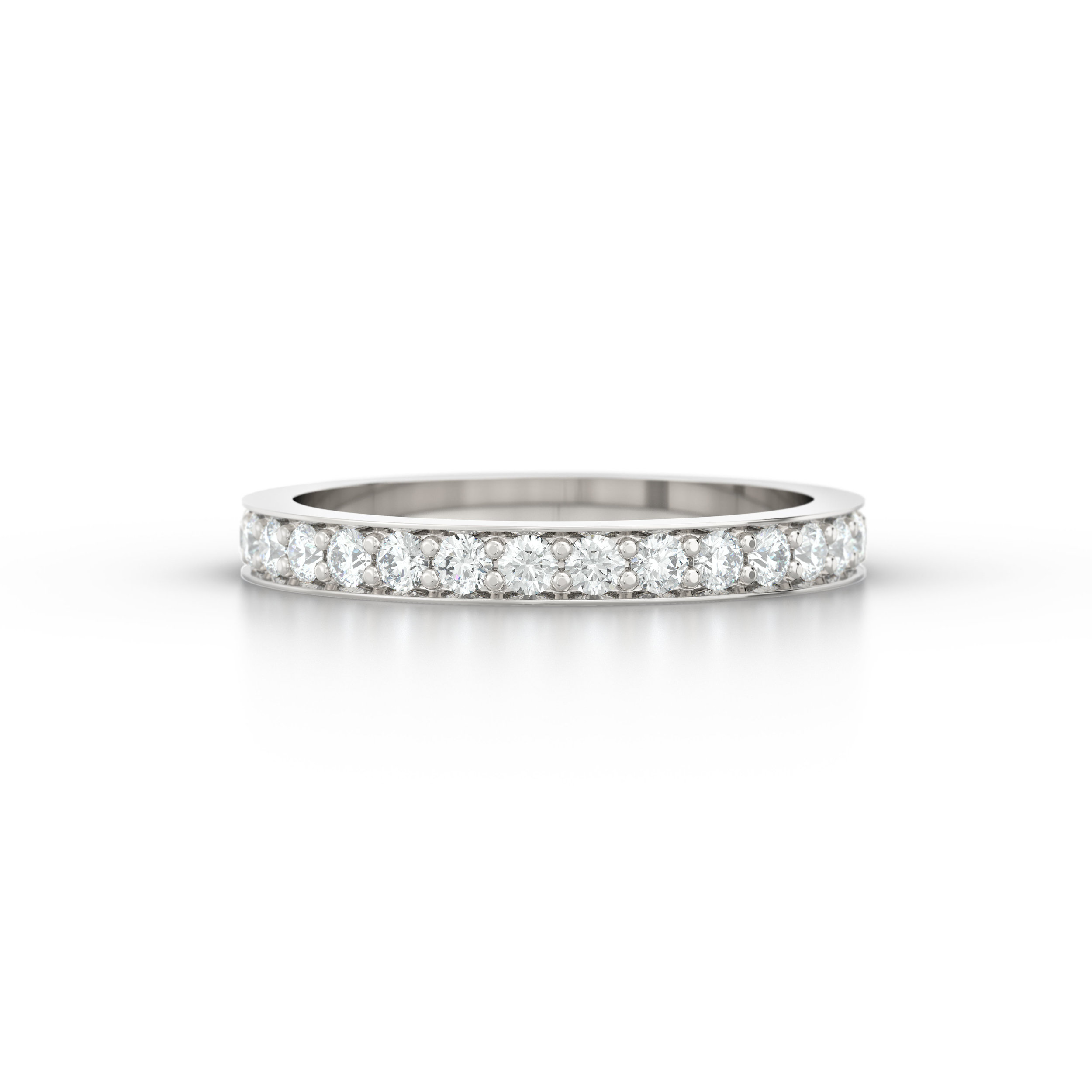 Pave Set Eternity Ring | Hatton Garden Jewellers
