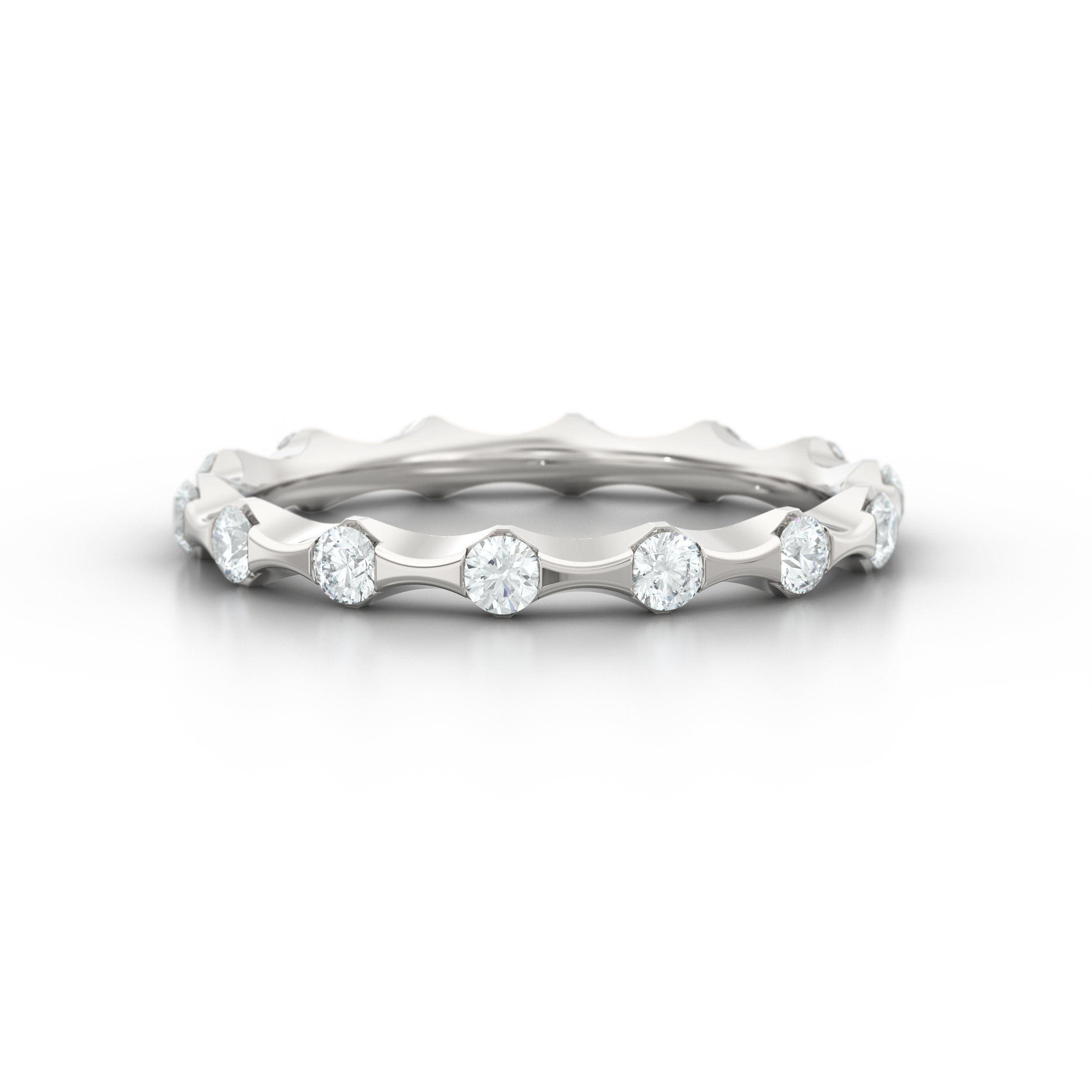 Unique Diamond Eternity Rings | Hatton Garden