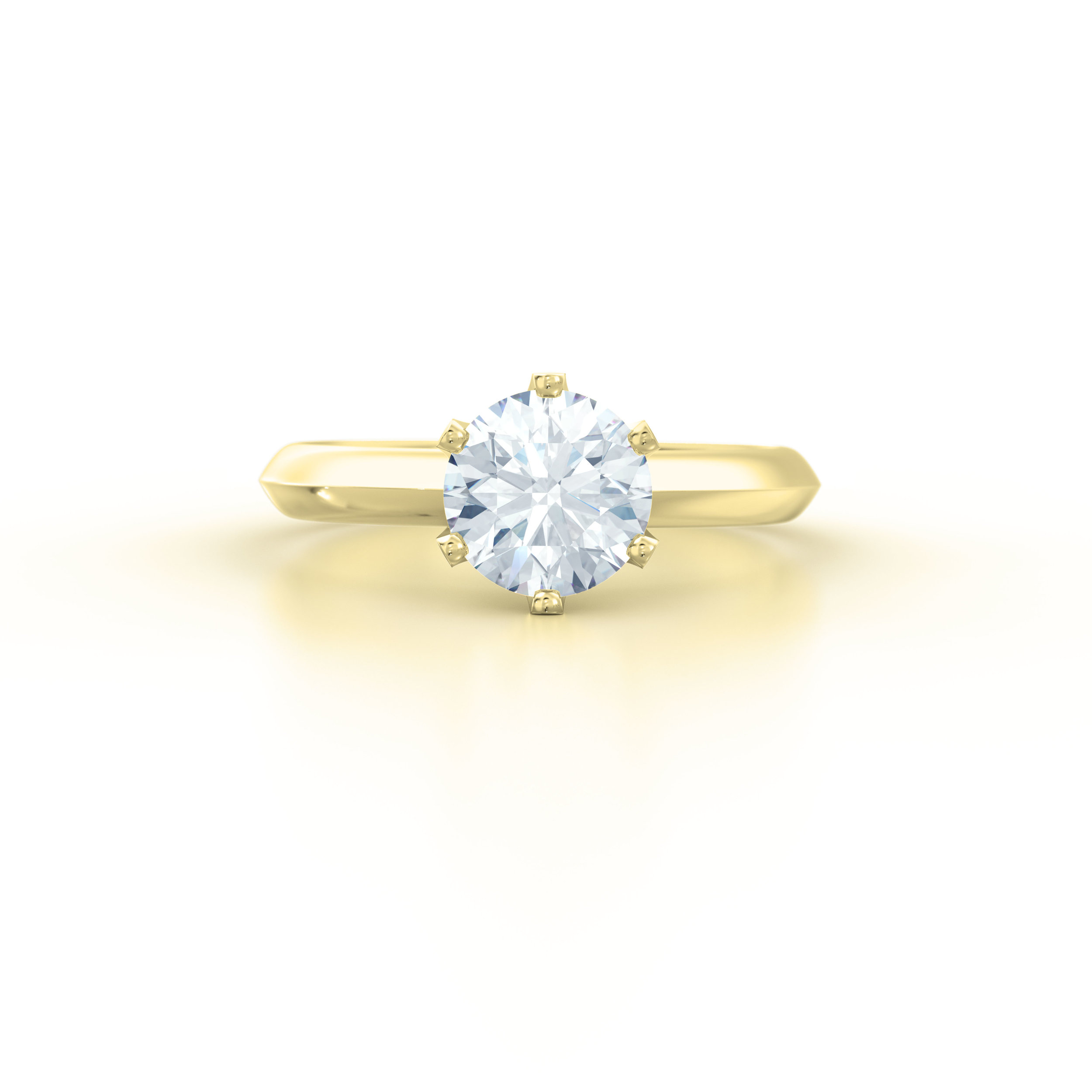 Six Claw Solitaire Engagement Ring | Hatton Garden
