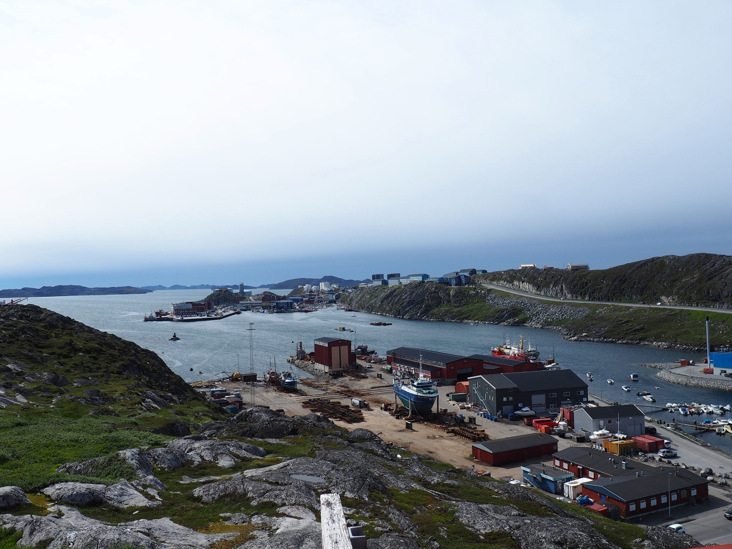 Nuuk. Photo:  A.Gavin Zeitz .