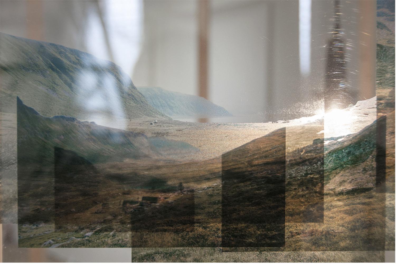 Installation view (detail) from the group exhibition  Rift,  Bergen Kjøtt.