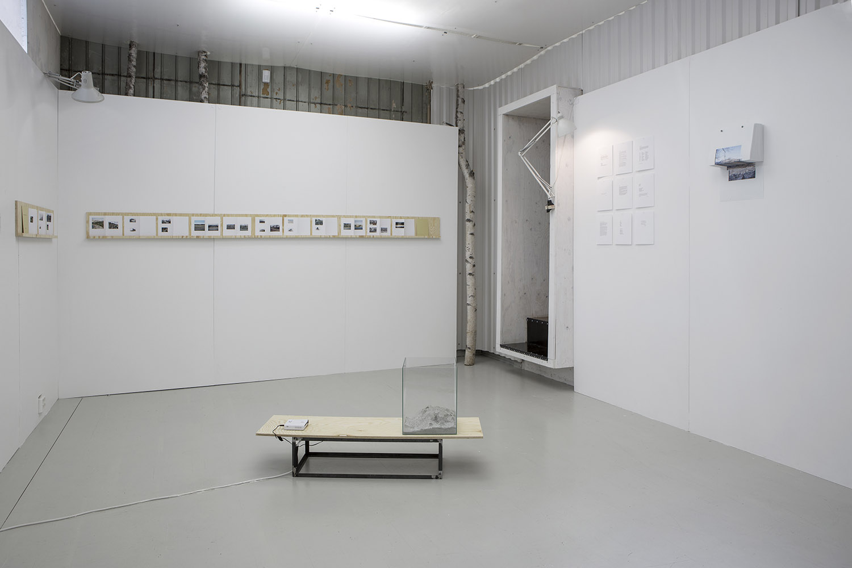 Installation view at Punkt, Oslo (NO) Photo: Tor S. Ulstein