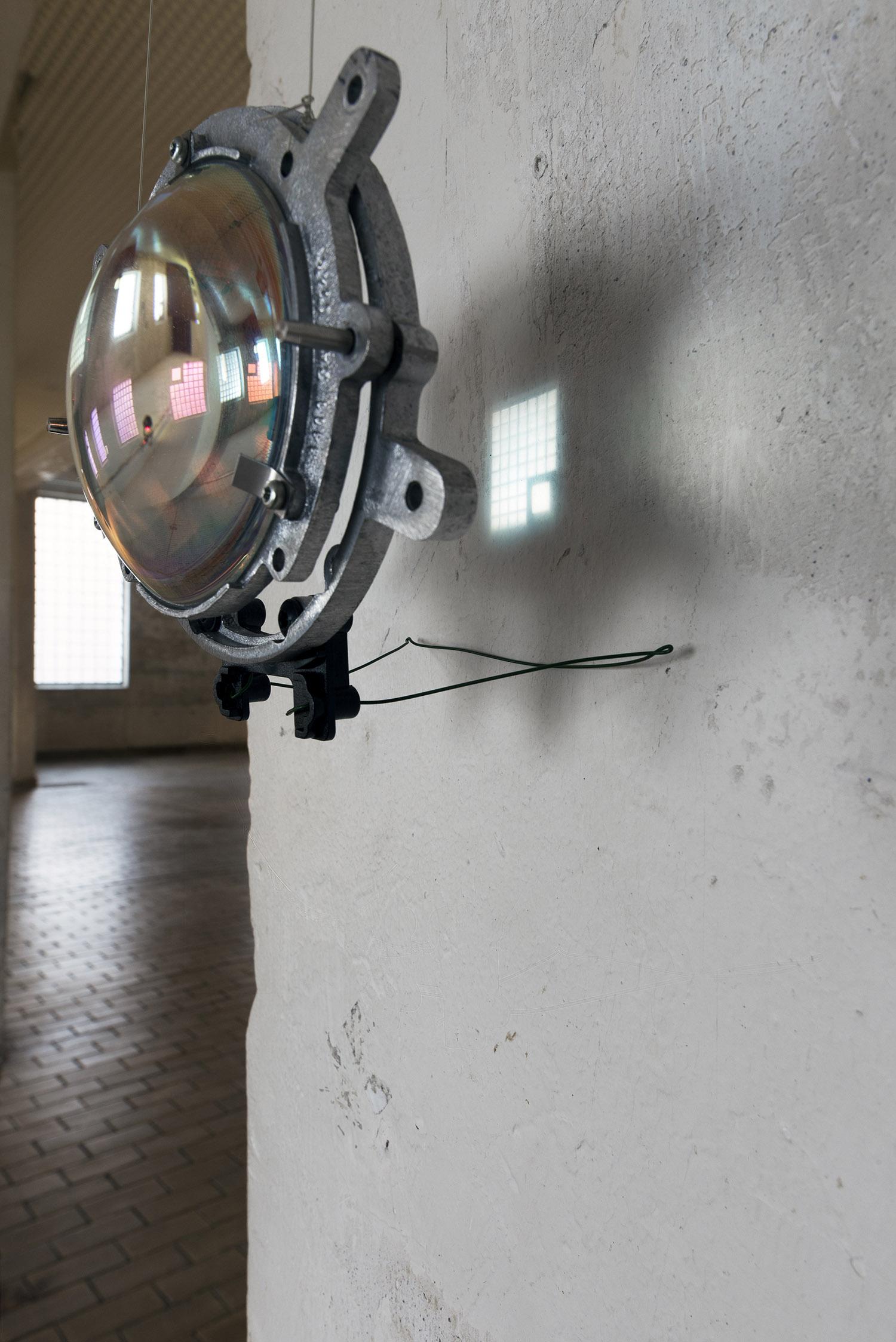 Optical Distortion,  installation by Åsne Eldøy.