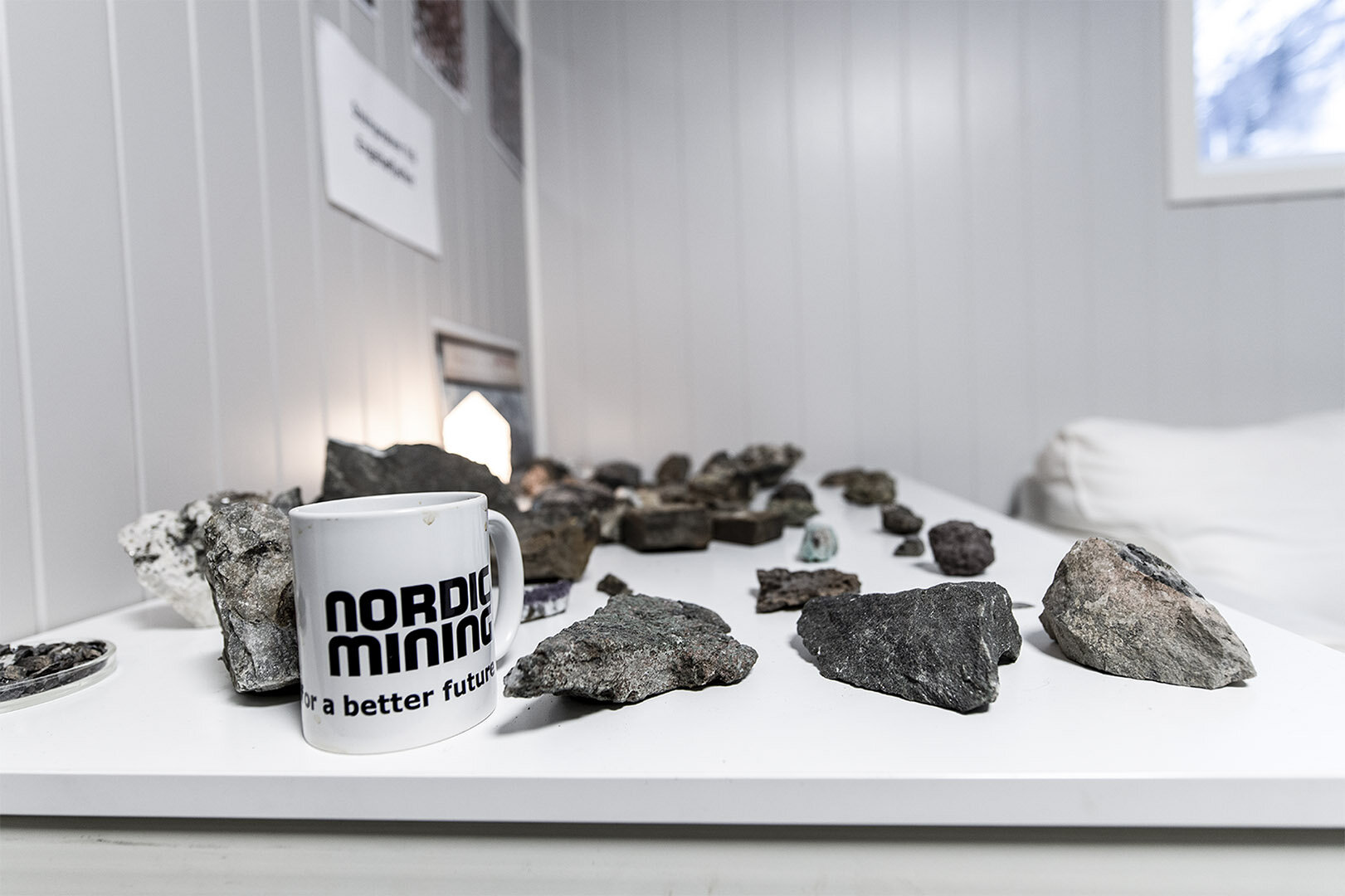 From Nordic Mining Headquarters in Naustdal.