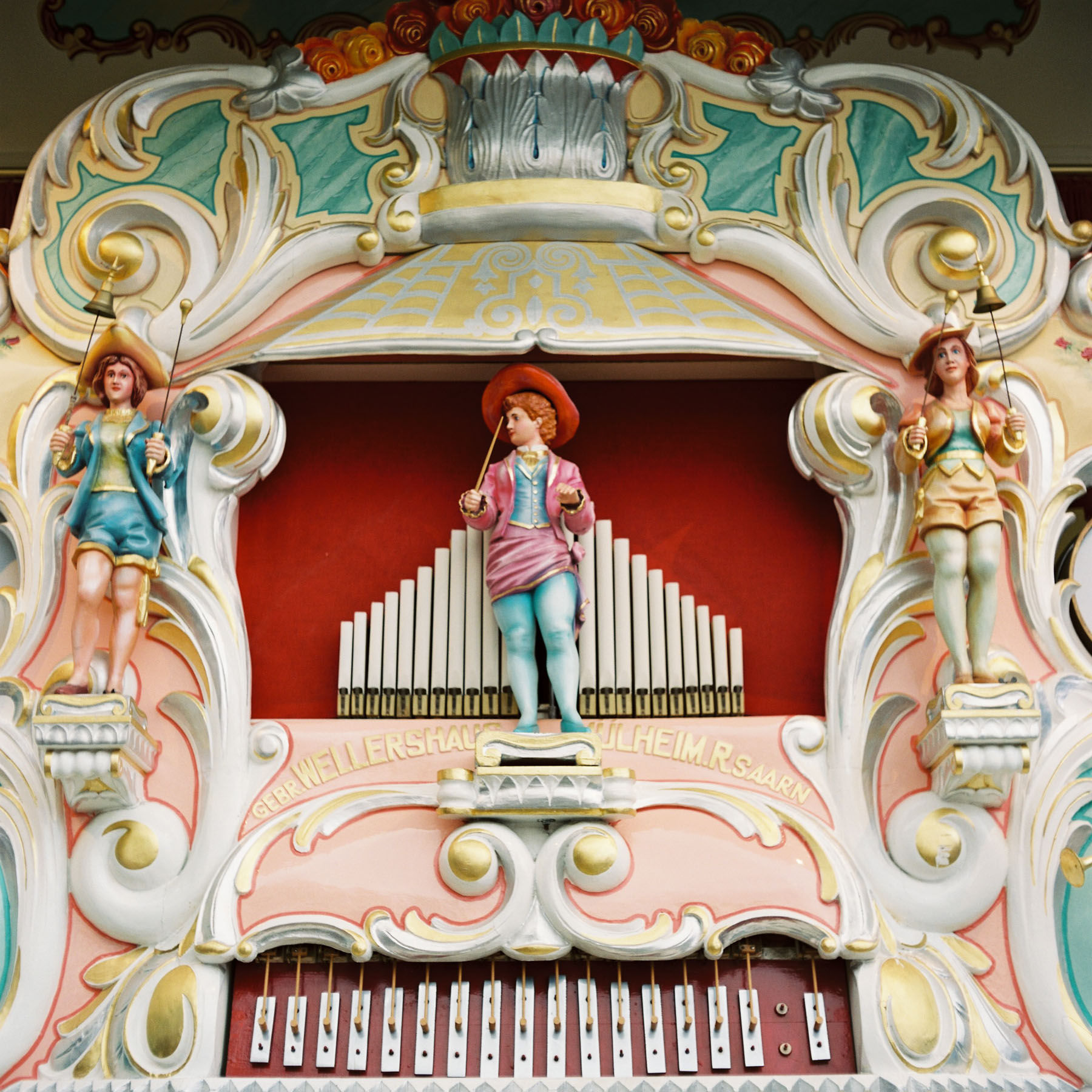 Traditionelle Orgel
