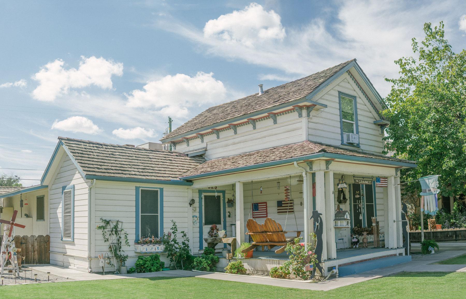 Amerikanisches Landhaus.