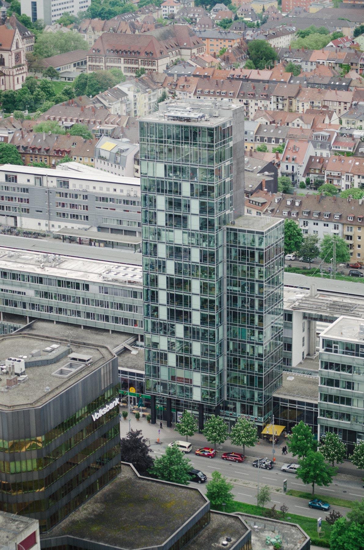 Luftansichten geben ein Gespür für das Umfeld der Immobilie.