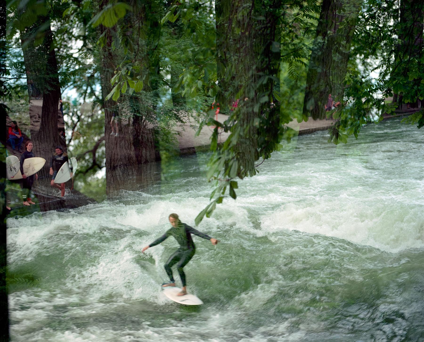 Wald Surfen