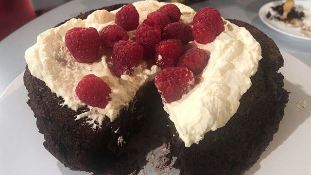 Two gorgeous Domini Kemp recipes for you from her most recent appearance on @rtetoday: a Chocolate Olive Oil Cake and a sublime Coffee Ice Cream: https://www.rte.ie/lifestyle/recipes/2019/0403/1040497-domini-kemps-chocolate-olive-oil-cake-today/ via @rtefood . . . #CoffeeIceCream #ChocolateCake #Foodporn #dessertporn #dessertstagram #dessert #desserts #ChocolateOliveOilCake #desserttable