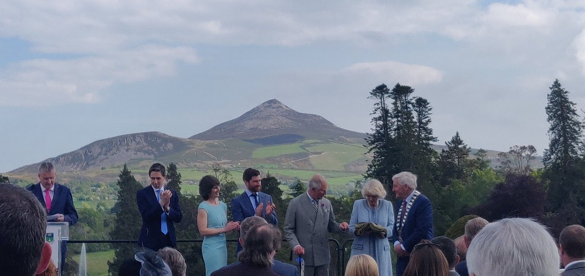 Presentation by The Sugarloaf, Co. Wicklow