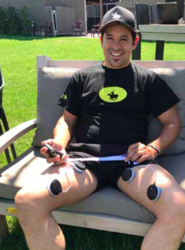 Electrical stimulation can also help speed up recovery
