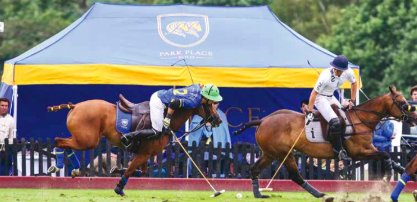 A powerful eccentric contraction can injure the hamstring tendon when extending too far out of the saddle (Photography by  imagesofpolo.com )