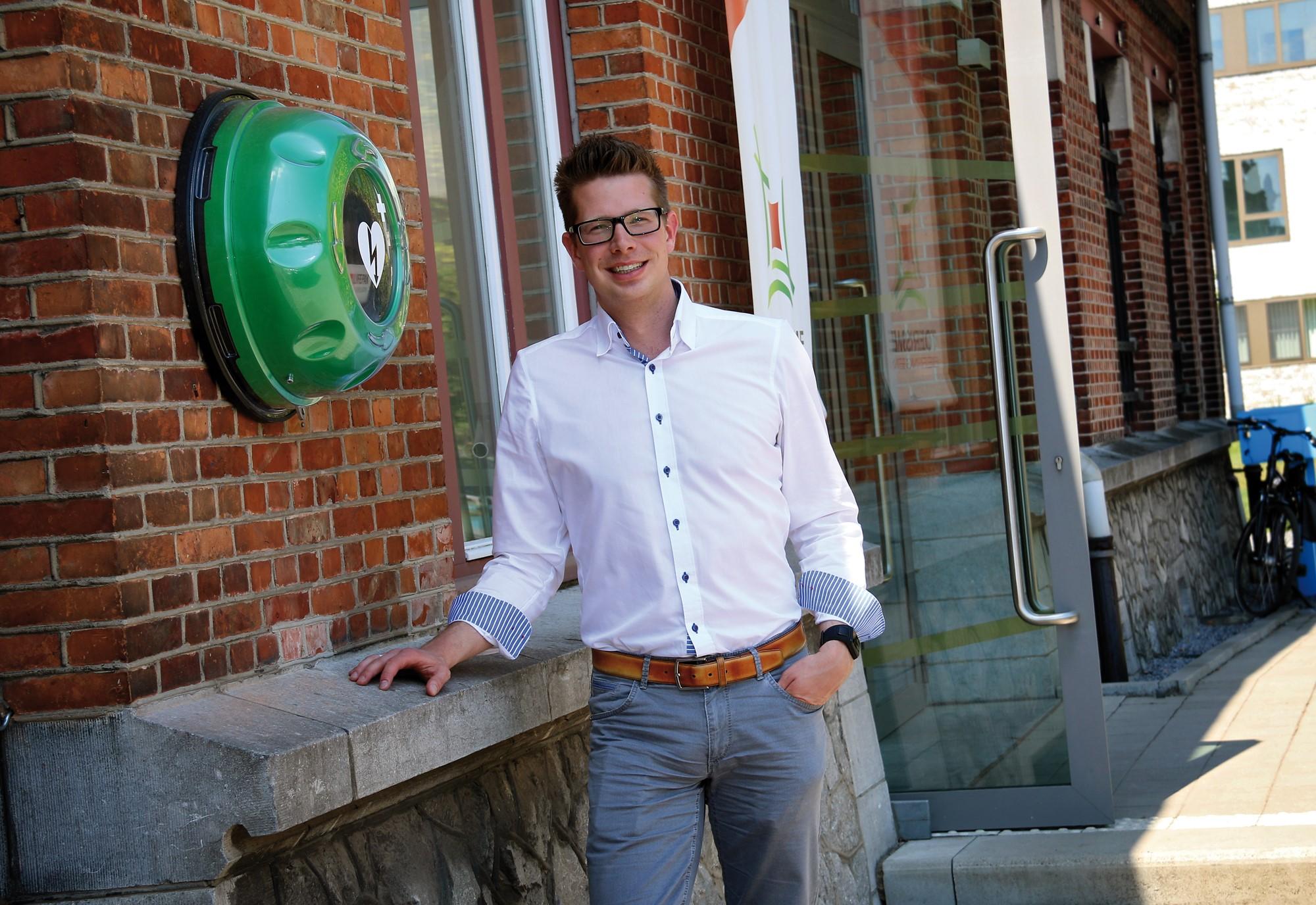 Thomas Vints Beringen Hartveilig AED