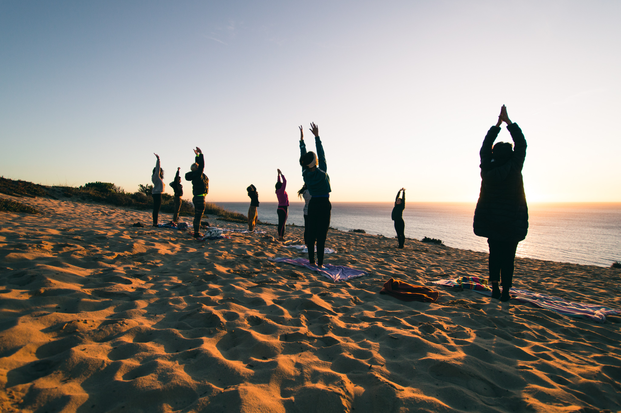 FOREST WALK & ZEN SUNSET AT THE BEACH  Costa da Caparica Fossil Cliff FROM 55,00€  Fully enhance the healing benefits of nature through the ancient practices of Yoga and mindfulness. Engage in an unforgettable and therapeutic experience in an awe-inspiring coastal forest.